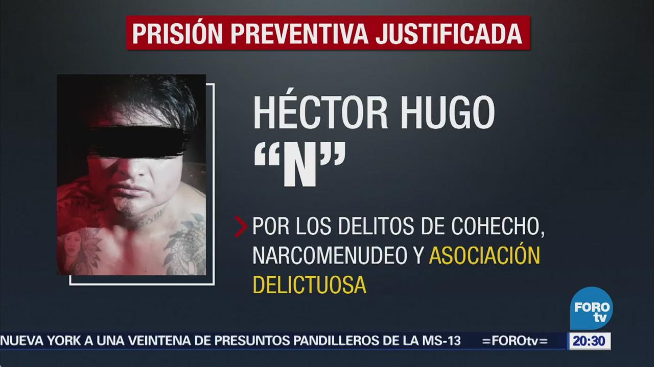 Dictan prisión preventiva a 'El H'