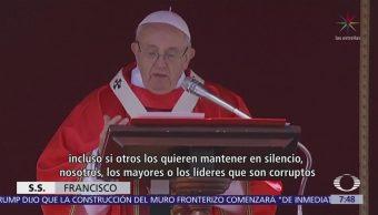 El papa Francisco celebra el Domingo de Ramos