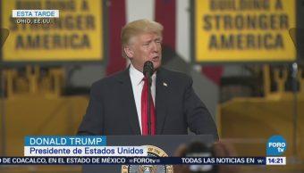Enorgullece a Trump construcción de muro fronterizo