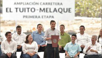 EPN destaca crecimiento económico del 13% durante su administración