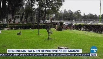 Extra Extra: Denuncian tala en Deportivo 18 de Marzo