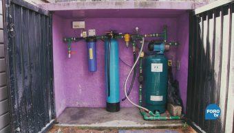 Filtros de agua de lluvia en la UNAM