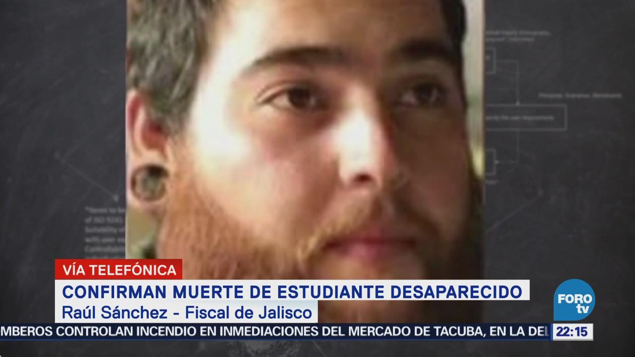 Fiscal de Jalisco: muerte de César Ulises no está relacionada con desaparición de universitarios