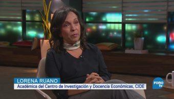 Genaro Lozano entrevista a Lorena Ruano