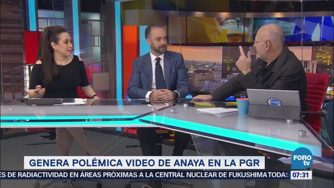 Guillermo Sesma: Difusión de video de Anaya en PGR enturbia proceso electoral