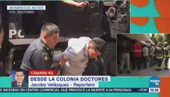 Ingresan a detenidos en Magdalena Conteras a la Fiscalía de Investigación 50
