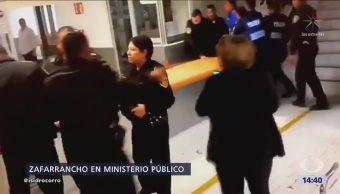Irrumpen Ministerio Público Coyoacán