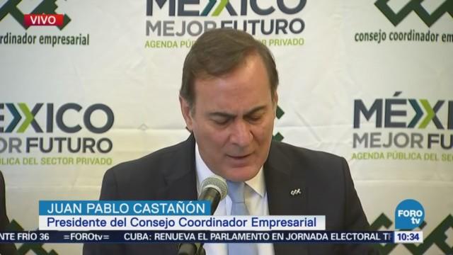 Juan Pablo Castañón destaca los avances en el comercio exterior