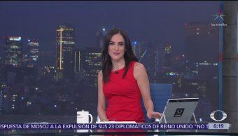 Las noticias, con Danielle Dithurbide: Programa del 15 de marzo del 2018