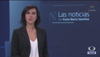 Las Noticias, con Karla Iberia: Programa del 13 de marzo de 2018