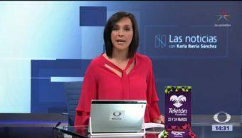 Las Noticias, con Karla Iberia: Programa del 20 de marzo de 2018