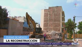 Mancera responde a críticas por retraso en tareas de reconstrucción