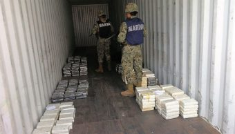 marinos decomisan cocaina veracruz recinto portuario