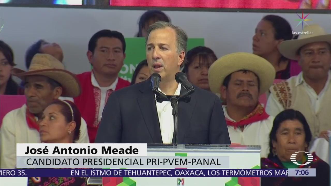 Meade encabezó festejo por fundación del PRI hace 89 años