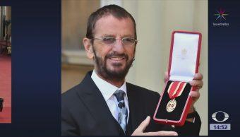 Nombran Sir Ringo Starr Isabel Ii De Inglaterra