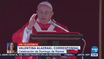 Papa Francisco celebra el Domingo de Ramos en el Vaticano