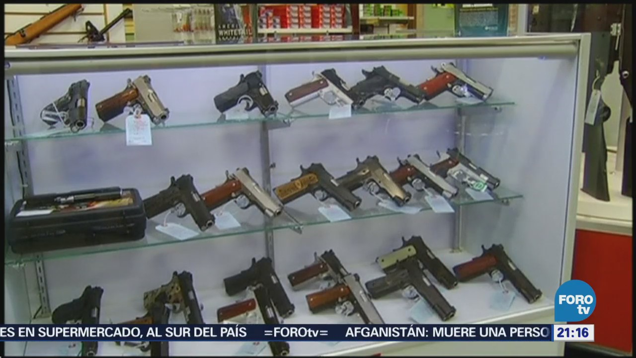 Personas poseen más de 5 armas en Estados Unidos