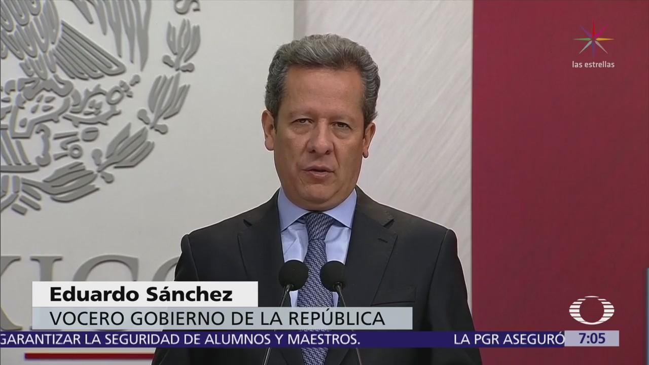 Presidencia rechaza que Enrique Peña Nieto interfiera en el proceso electoral