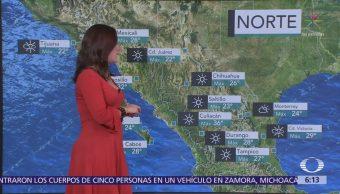 Prevén tormentas eléctricas con granizo en oriente, centro y sureste de México