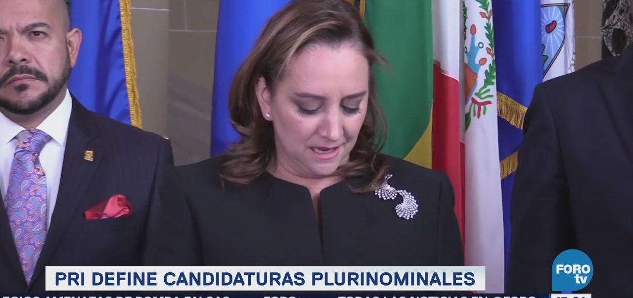 Pri Define Candidaturas Plurinominales