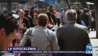 ¿Qué es la hipocalemia?