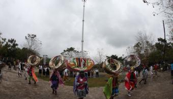 Realizan hermanamiento las culturas totonaca y coreana en la Cumbre Tajín