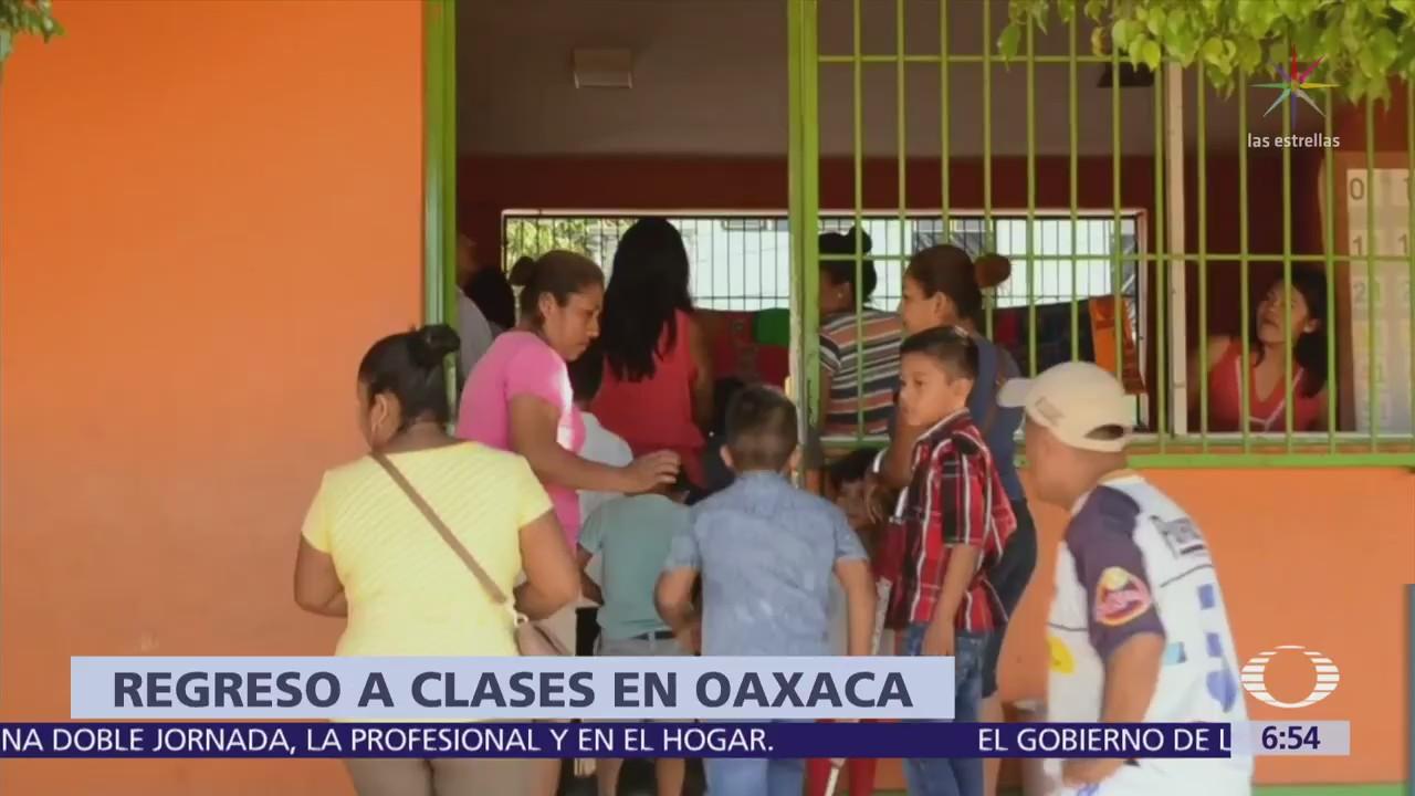 Regresan a clases en la región Costa de Oaxaca tras sismo