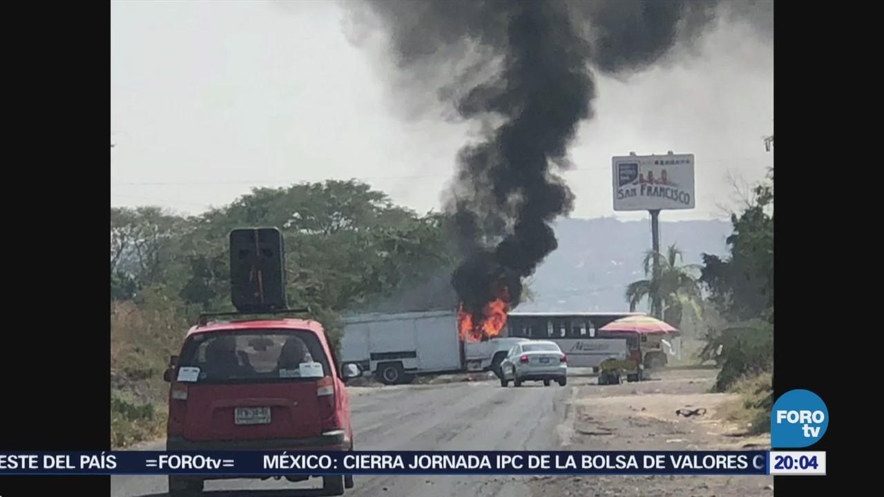 Responsabilizan a 'Los Viagra' de la quema de vehículos