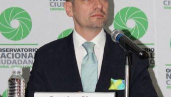 PGJ CDMX manipula cifras de delitos: Francisco Rivas