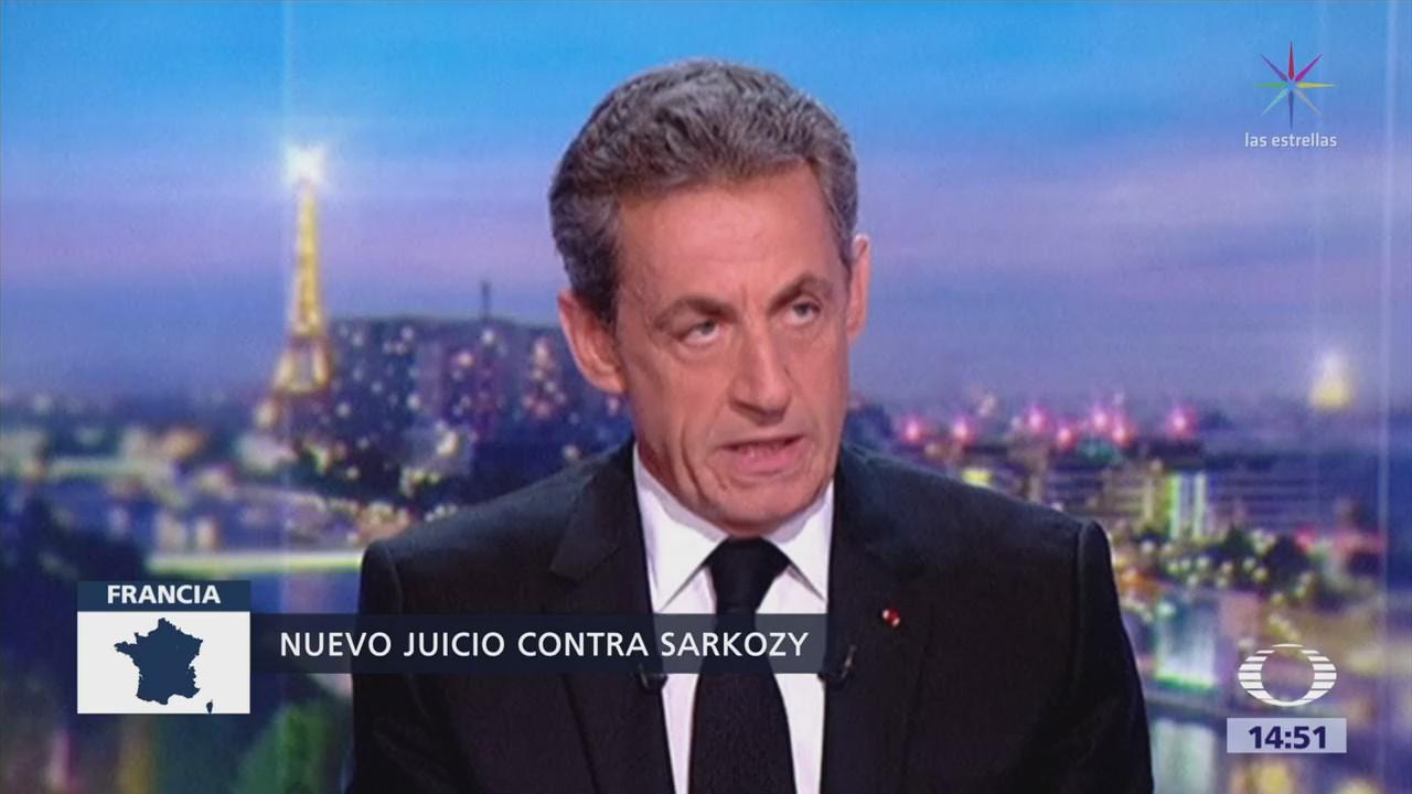 Sarkozy será juzgado por un tribunal correccional por corrupción