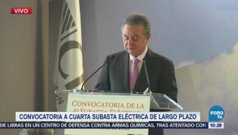 Sener presenta convocatoria para la cuarta subasta eléctrica de largo plazo