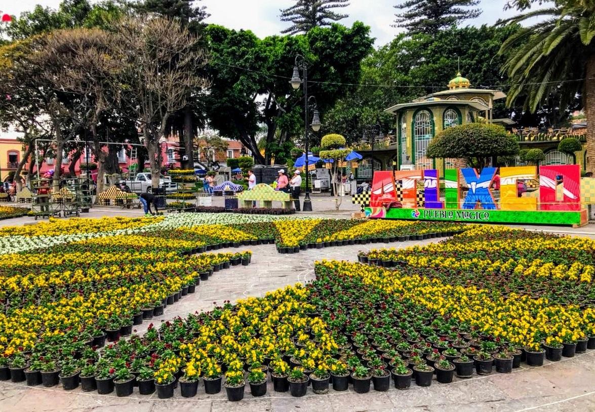 Pueblo Mágico de Atlixco ofrecerá más de 50 mil flores en festival