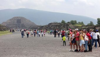 Miles acuden al Equinoccio de Primavera en Teotihuacán