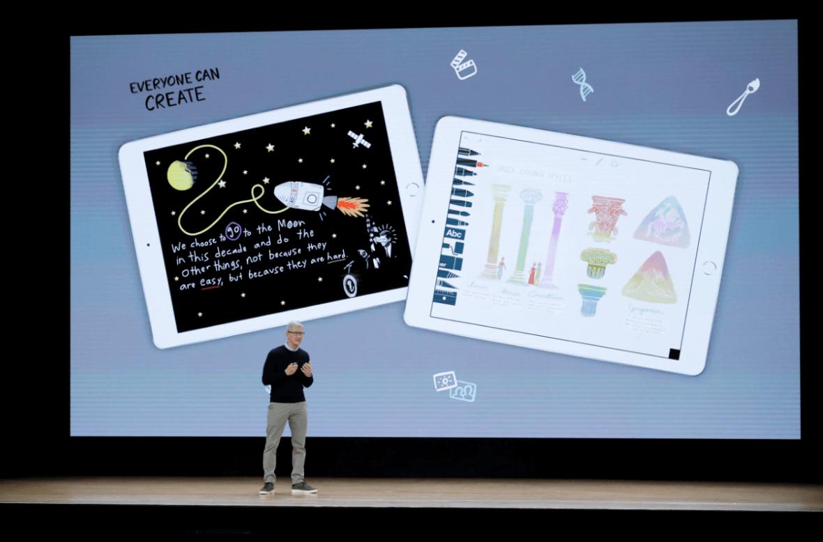 Apple lanza nuevo iPad con precio especial para estudiantes