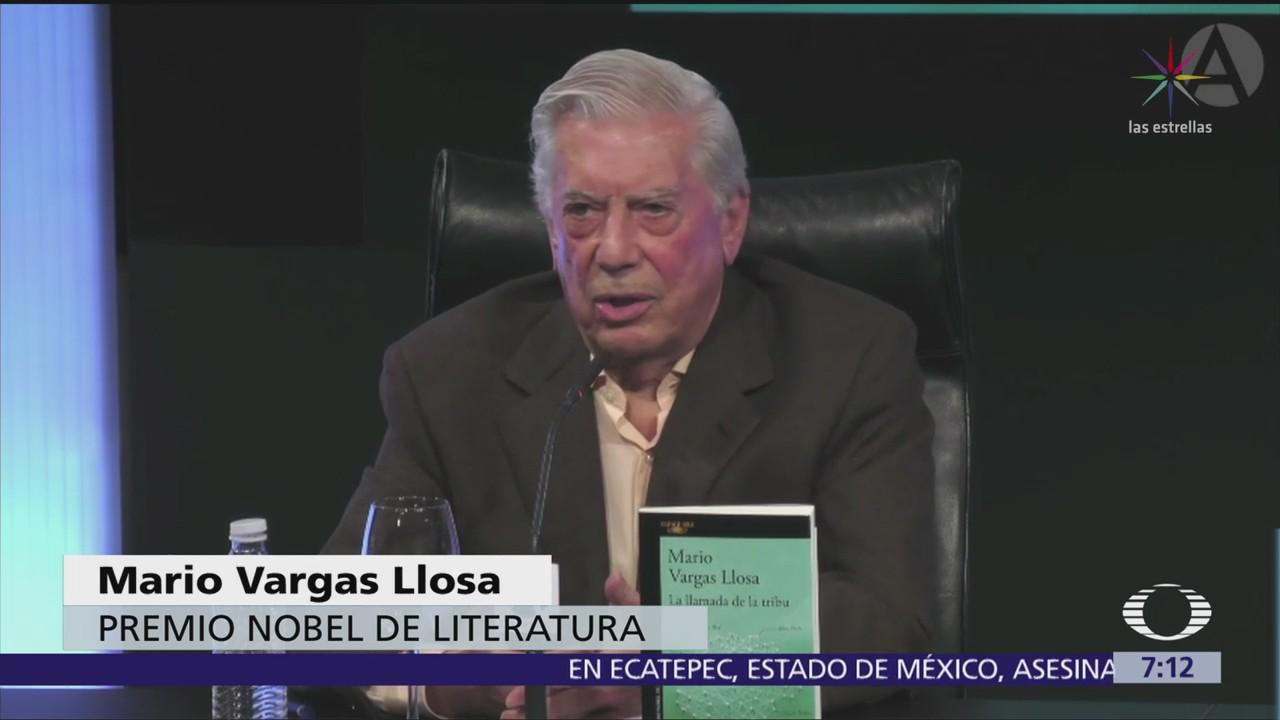 Vargas Llosa: Triunfo electoral de AMLO sería retroceso a democracia populista