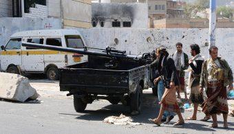 Rebeldes yemeníes lanzaron varios misiles contra Ministerio Saudita de Defensa