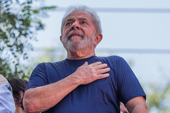 Luiz Inácio Lula da Silva, expresidente de Brasil. (GettyImages, archivo)