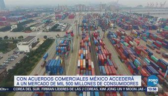 Acuerdos Comerciales Integrarán Mercado Más Mil 500 Millones Consumidores