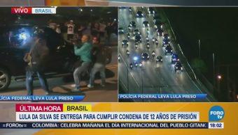 Alistan ingreso de Lula a una prisión en Curitiba