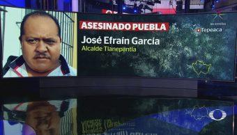 Asesinan Alcalde Tlanepantla Puebla José Efraín García