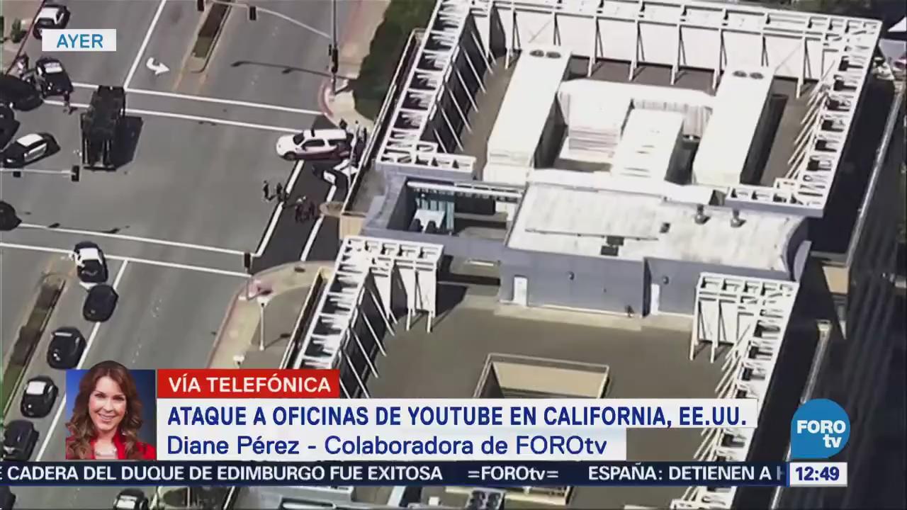 Ataque a oficinas de Youtube en California