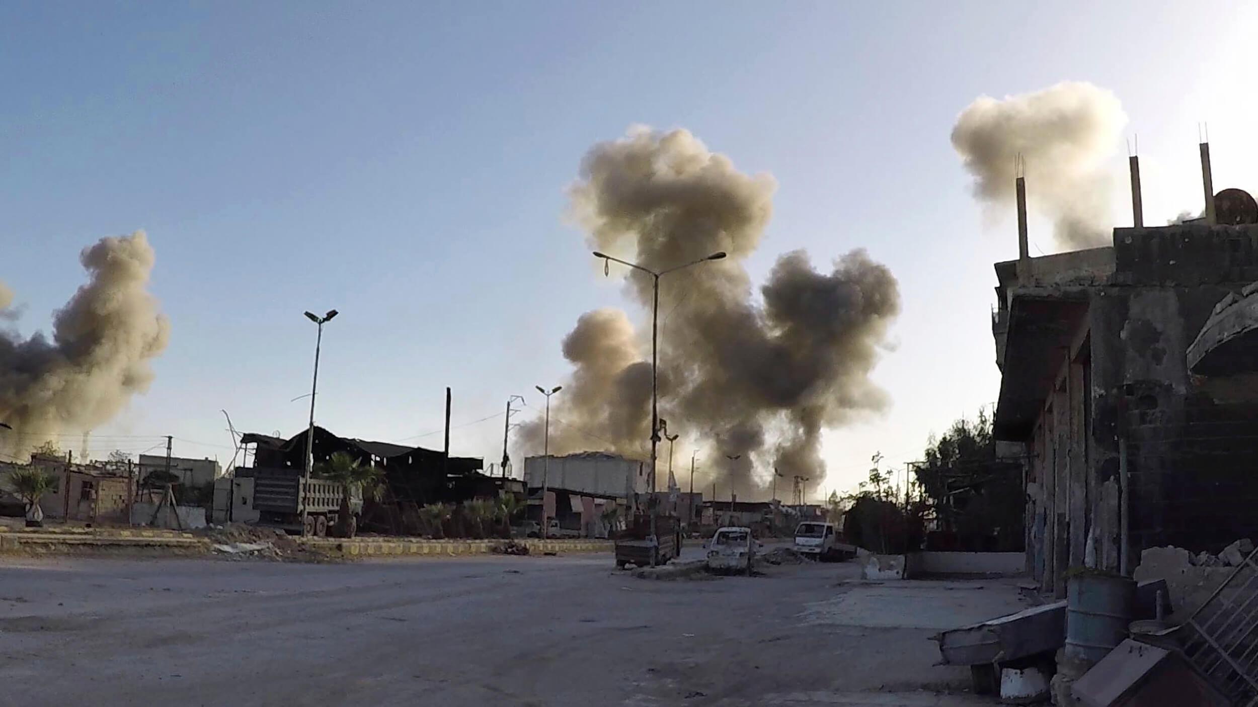 Advierten a aerolíneas sobre posible acción militar en Siria