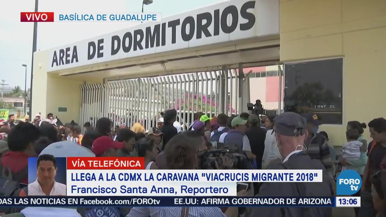 Viacrucis Migrante Llega Cdmx Procedente Puebla