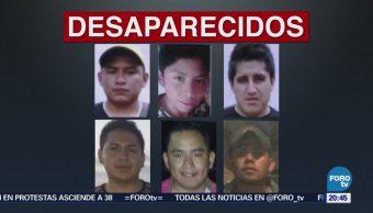 Buscan Seis Jóvenes Reportados Desaparecidos Oaxaca