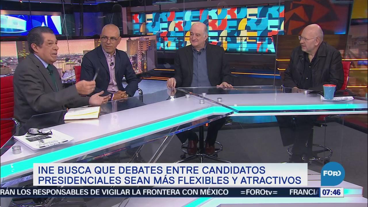 Candidatos explotan descuidos de adversarios tras debates, explican encuestadores