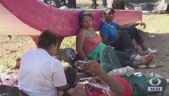 Caravana de migrantes no llegará a EU