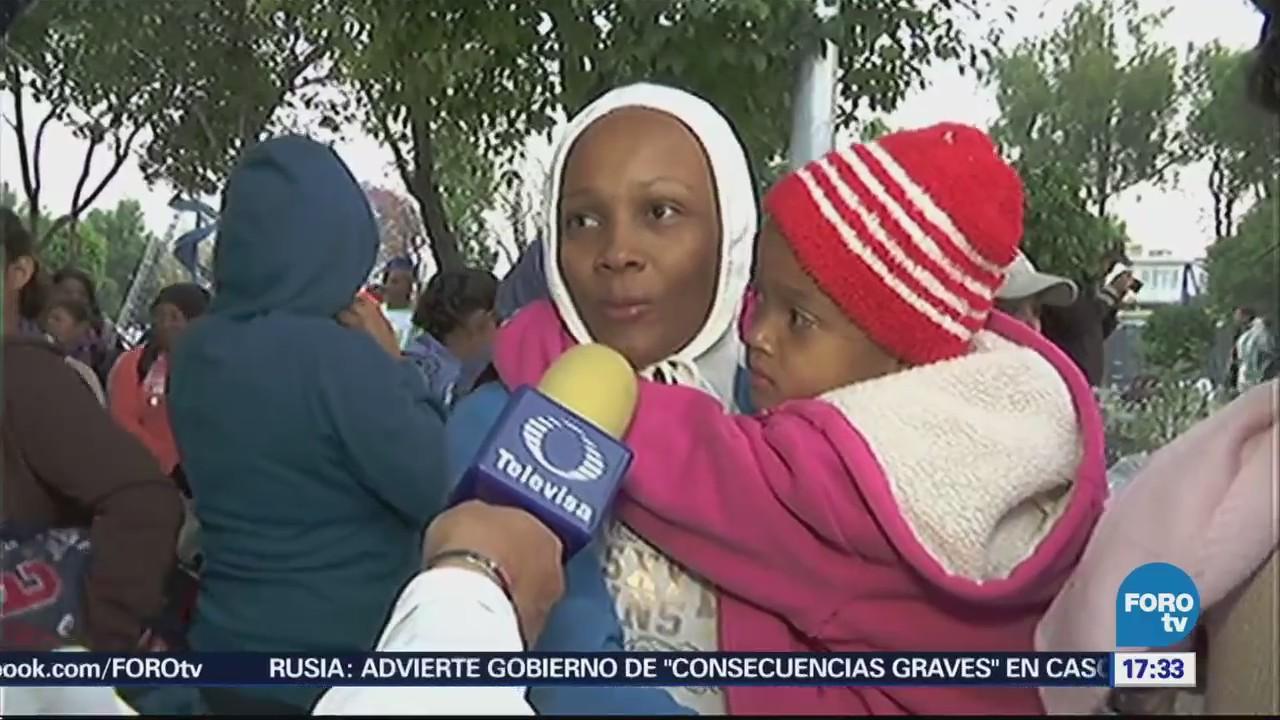 Caravana Migrante Llega Cdmx, Ciudad de México