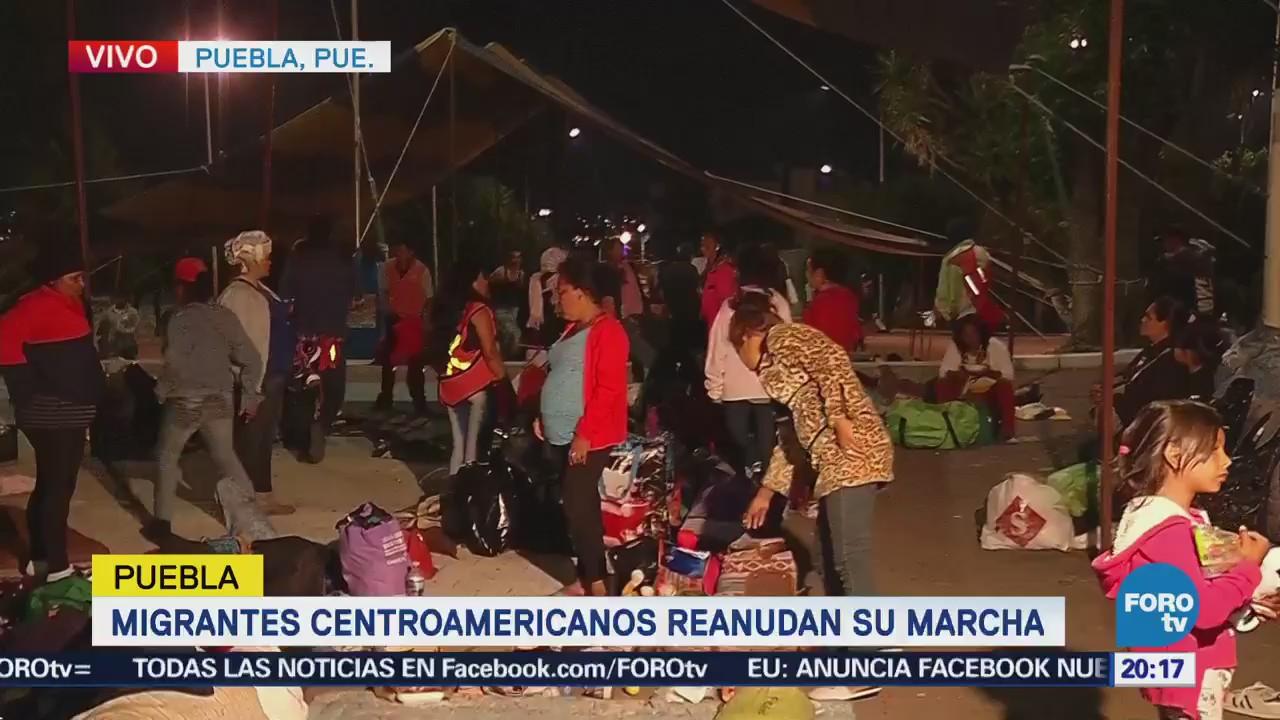 Caravana migrante reanuda su marcha - Noticieros Televisa
