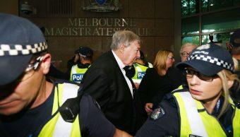 Tribunal australiano enjuiciará cardenal George Pell pederastia