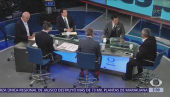 Castañeda, Nuño, Delgado, Zavala y Torres en Despierta con Loret